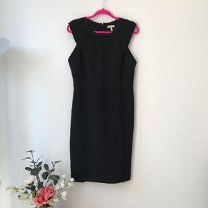 Rebecca Taylor Stretch Tweed Sheath Dress - 12